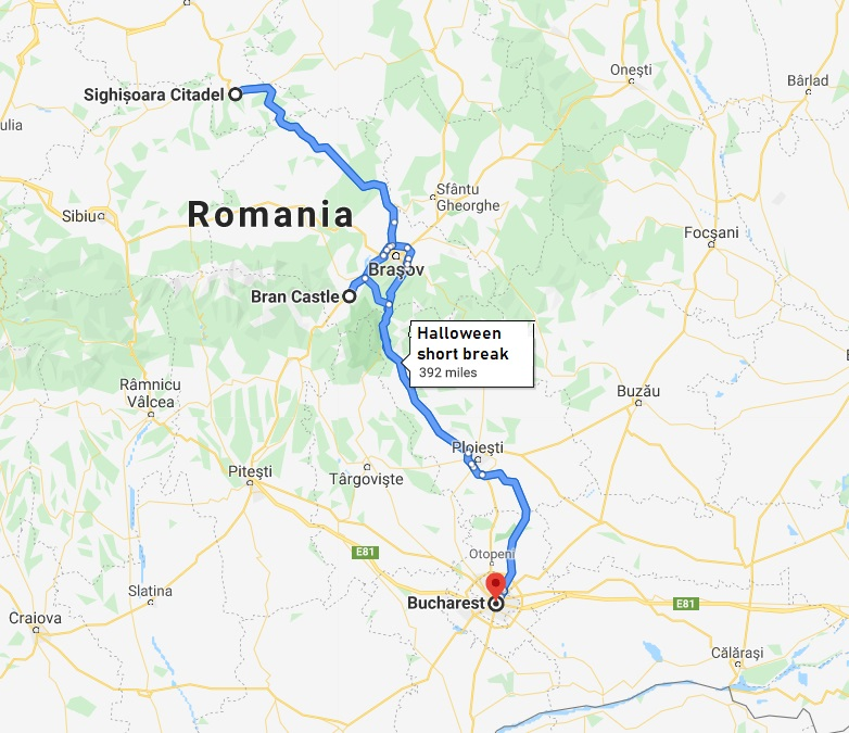 package holidays romania