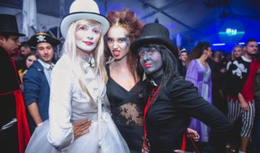 Bran Castle Halloween party in Transylvania