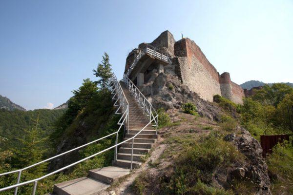 best of romania dracula tour, poienari fortress